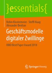 Geschäftsmodelle digitaler Zwillinge HMD Best Paper Award 2018