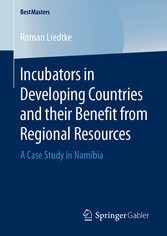 Incubators in Developing Countries and their Benefit from Regional Resources A Case Study in Namibia