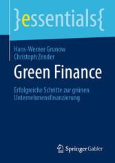 Green Finance Erfolgreiche Schritte zur grünen Unternehmensfinanzierung