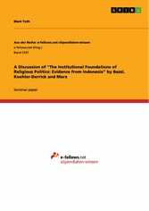 A Discussion of 'The Institutional Foundations of Religious Politics: Evidence from Indonesia' by Bazzi, Koehler-Derrick and Marx