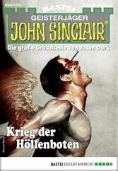 John Sinclair 2125 - Horror-Serie Krieg der Höllenboten