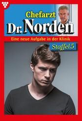 Chefarzt Dr. Norden Staffel 5 - Arztroman E-Book 1151-1160