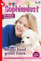 Sophienlust - Die nächste Generation 20 - Familienroman Kleiner Hund - großes Glück