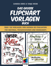 Das große Flipchart- Vorlagen-Buch Über 180 Vorlagen: von Agenda bis Evaluation für Meetings, Präsentationen und Workshops