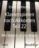 Klavierspielen nach Akkorden Teil 22