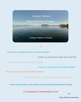 Creator Pattern  A Peaceful Way of Living A Peaceful Way of Living