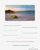 Creator Awareness in Seven Days Meditation Guide