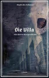 Stadt des Schnees - Die Villa eine Horror-Kurzgeschichte