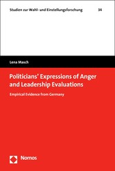 Politicians' Expressions of Anger and Leadership Evaluations Empirical Evidence from Germany