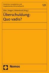 Überschuldung: Quo vadis?