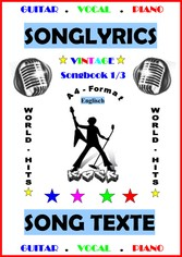 100 Englische Songtexte: Welthits + Gitarren-Playbacks English Edition