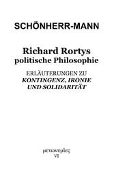 Richard Rortys politische Philosophie '