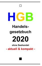 HGB Handelsgesetzbuch 2020