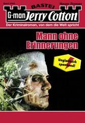Jerry Cotton 3306 - Krimi-Serie Mann ohne Erinnerung