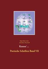Komm Poetische Schriften Band VII