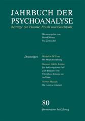 Jahrbuch der Psychoanalyse / Band 80: Deutungen