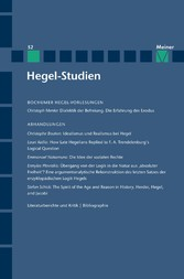 Hegel-Studien / Hegel-Studien Band 52
