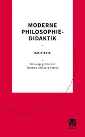 Moderne Philosophiedidaktik Basistexte