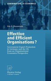 Effective and Efficient Organisations? Government Export Promotion in Germany and the UK from an Organisational Economics Perspective