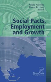 Social Pacts, Employment and Growth A Reappraisal of Ezio Tarantelli's Thought