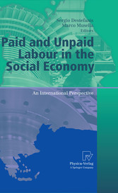 Paid and Unpaid Labour in the Social Economy An International Perspective