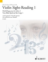Violin Sight-Reading 1 A fresh approach