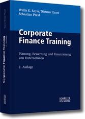 Corporate Finance Training Planung, Bewertung und Finanzierung von Unternehmen
