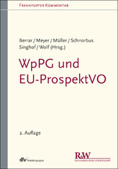 WpPG und EU-ProspektVO Wertpapierprospektgesetz und EU-Prospektverordnung