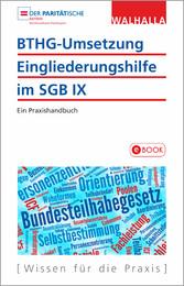 BTHG-Umsetzung - Eingliederungshilfe im SGB IX Ein Praxishandbuch