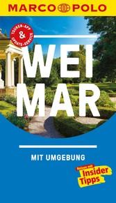 MARCO POLO Reiseführer Weimar inklusive Insider-Tipps, Touren-App, Update-Service und offline Reiseatlas