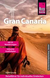 Reise Know-How Reiseführer Gran Canaria mit den zwölf schönsten Wanderungen