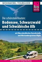 Reise Know-How Wohnmobil-Tourguide Bodensee, Schwarzwald und Schwäbische Alb - Download (PDF) Mit Oberschwäbischer Barockstraße und schwäbischem Allgäu