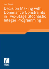 Decision Making with Dominance Constraints in Two-Stage Stochastic Integer Programming