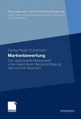 Markenbewertung Der objektivierte Markenwert unter besonderer Berücksichtigung des Income Approach