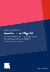 Insolvenz und Rigidität Eine theoretische und empirische Ursachenanalyse auf Basis von Insolvenzplänen