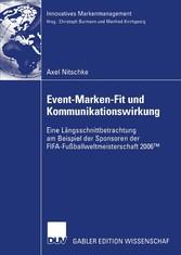 Event-Marken-Fit und Kommunikationswirkung Eine Längsschnittbetrachtung am Beispiel der Sponsoren der FIFA-Fußballweltmeisterschaft 2006?