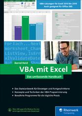 VBA mit Excel Das umfassende Handbuch