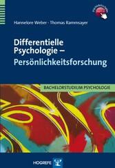 Differentielle Psychologie  Persönlichkeitsforschung
