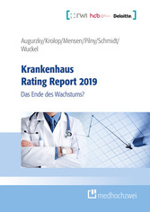 Krankenhaus Rating Report 2019 Das Ende des Wachstums?