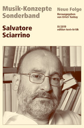 MUSIK-KONZEPTE Sonderband - Salvatore Sciarrino