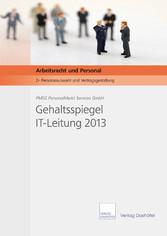 Gehaltsspiegel IT-Leitung 2013 - Download PDF