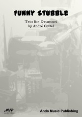 Funny Stubble Trio for Drumset