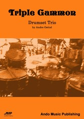 Triple Gammon Drumset Trio