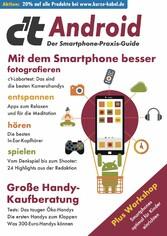 c't Android 2020 Mit dem Smartphone besser fotografieren, entspannen, hören, spielen. Plus Workshop: Smartphones optimal für Kinder einrichten. Außerdem: Große Handy-Kaufberatung - Das taugen Öko-Handy - Die ersten Handys zum Klappen - Was 300-Euro-Handys können.