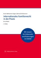 Internationales Familienrecht in der Praxis Ein Leitfaden