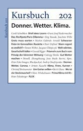 Kursbuch 202 Donner.Wetter.Klima.