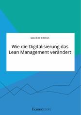 Wie die Digitalisierung das Lean Management verändert