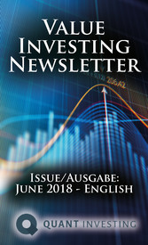 2018 06 Value Investing Newsletter by Quant Investing / Dein Aktien Newsletter / Your Stock Investing Newsletter Issue/Ausgabe: June 2018 - English