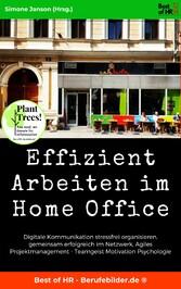Effizient Arbeiten im Home Office Digitale Kommunikation stressfrei organisieren, gemeinsam erfolgreich im Netzwerk, Agiles Projektmanagement - Teamgeist Motivation Psychologie