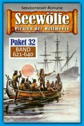 Seewölfe Paket 32 Seewölfe - Piraten der Weltmeere, Band 621 bis 640